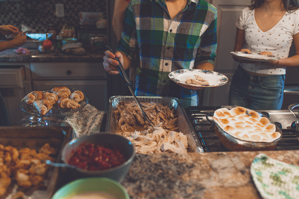 hvac-system-thanksgiving-party