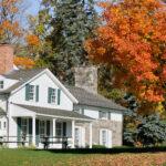 Michigan home in fall